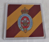 3rd ( PRINCE OF WALES'S ) DRAGOON GUARDS LARGE ACRYLIC COASTER